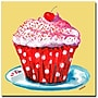 Trademark Fine Art Wendra 'Cupcake' Canvas Art 35x35