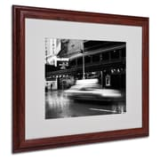Yale Gurney 'The Majestic' Matted Framed Art - 16x20 Inches - Wood Frame