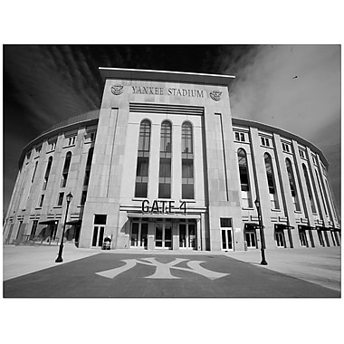 Trademark Fine Art Yankee Stadium by Yale Gurney Ready to Hang