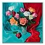 Trademark Fine Art A Dozen Roses by Yelena
