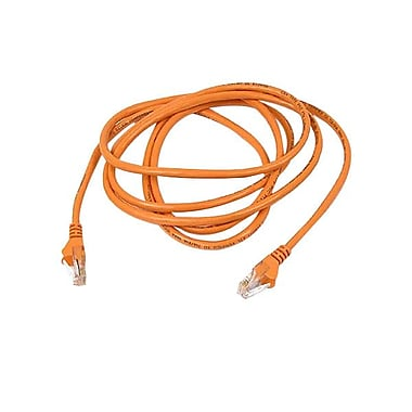 Belkin® A3L791 3' Cat5E Patch Cord, Orange