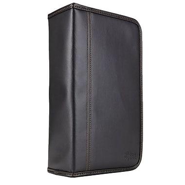Case Logic® Koskin 128 CD Wallet, Black, Each