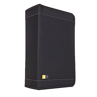 Case Logic® Nylon 92 CD Wallet, Black, Each