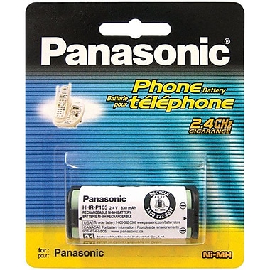 Panasonic® HHR-P105A Ni-MH Battery For Cordless Phone