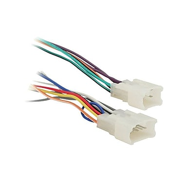 metra 70 1761 wiring harness for 87 up toyota and scion vehicles staples 174