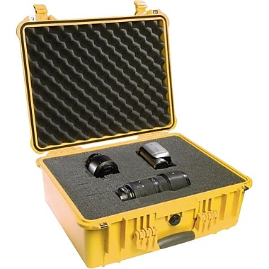 Pelican™ 1550 Hard Case With Foam, Yellow