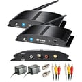 RF-Link AVS-5808 5.8GHz Wireless 8-Channel Indoor Audio/Video System, Black