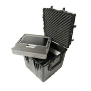 "Pelican™ 0370 24"" Cube Case With Foam, Black"