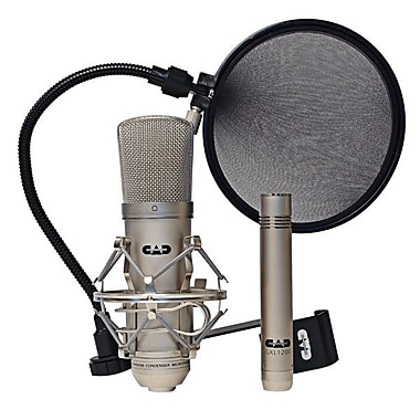 Omnitronics GXL2200SP CAD Professional Microphones Recording Pack