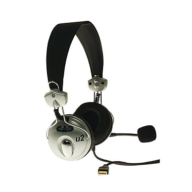 CAD® U2 USB Stereo Headphones With Microphone