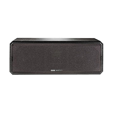 Bic Venturi DV52CLR 125 W 2-Way Center Channel Speaker, Black