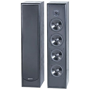 Bic Venturi DV84 250 W 2-Way Floor Standing Speaker, Black