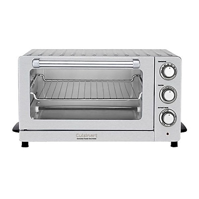 Conair Cuisinart 0.6 Cu. Ft. Toaster Oven Broiler With Convection, Stainless Steel IM1V00683