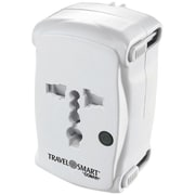 Conair® Travel Smart® 6-Outlet 149.8 Joule All-in-One Adapter Plug With Surge Protection