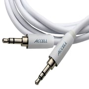 Accell® 3.5 mm Male to 3.5 mm Male Stereo Audio Cable For iPod/iPhone/iPad