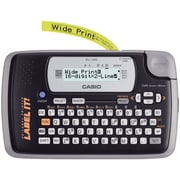 Casio® KL-120L 0.24 in/s Portable Thermal Label Maker, 200 dpi