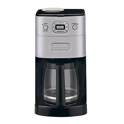Cuisinart Grind & Brew 12 Cup Automatic Coffeemaker, Black/Silver IM1Y67711