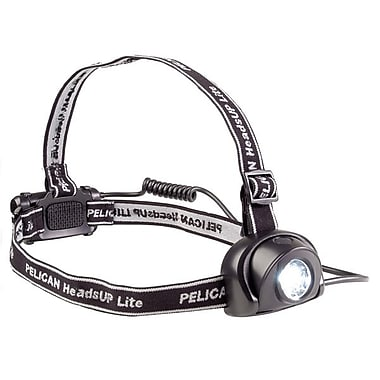 Pelican™ HeadsUp Lite™ 2670 LED Headlight, Raven Black
