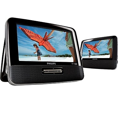 Philips PD7012/37 7in. Dual Screen Car DVD Player
