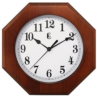 Geneva Wall Clock, Wood