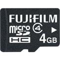 Fujifilm 4GB microSDHC (microSD High Capacity) Class 4 Flash Memory Card