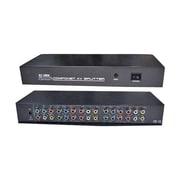 RF-Link™ AVS-14 4 Port Component and Composite AV Splitter