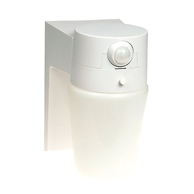 Chamberlain® Heath Zenith SL-5610 110 Deg Motion Sensor Entryway Light, White
