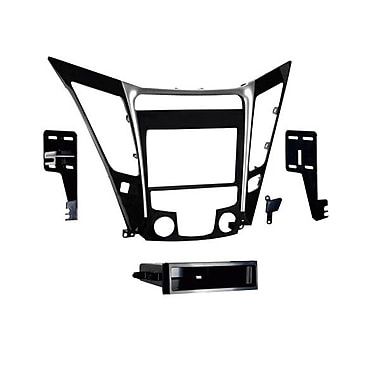 Metra™ 99-7342 2011 Hyundai Sonata Single/Double Din Installation Dash Kit, Black/Silver