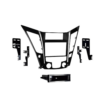 Metra™ 99-7343 2011 Hyundai Sonata Single/Double Din Installation Dash Kit, Black/Silver