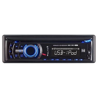 Dual® XDMA6510 In-Dash Single Din AM/FM CD Player With USB Control
