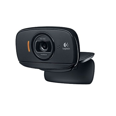 Logitech® 960-000841 Webcam HD, 2.0 MP, Black
