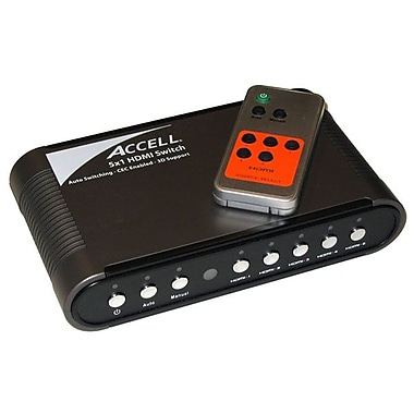 Accell® UltraAV® 5x1 Audio/Video HDMI Switch