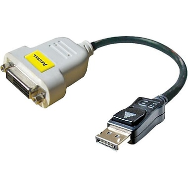 Accell® UltraAV B087B-007B 6in. DisplayPort/DVI 330Mhz Version Cable