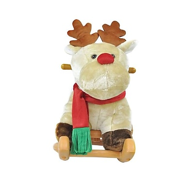 Radio Road Toys Animal Rocker, Christmas Reindeer