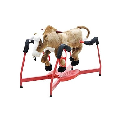 Radio Road Toys Spring Bull With Sound and Motion