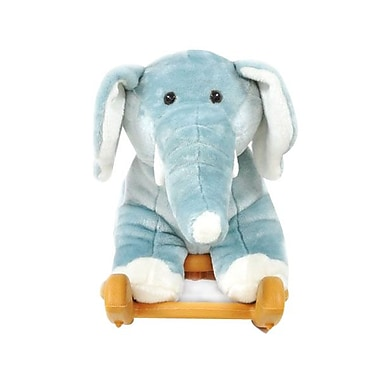 Radio Road Toys Animal Rocker, Blue Elephant