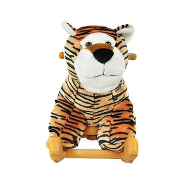 Radio Road Toys Animal Rocker, Black & Orange Tiger