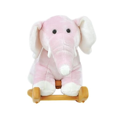 Radio Road Toys Small Animal Rocker, Pink Elephant