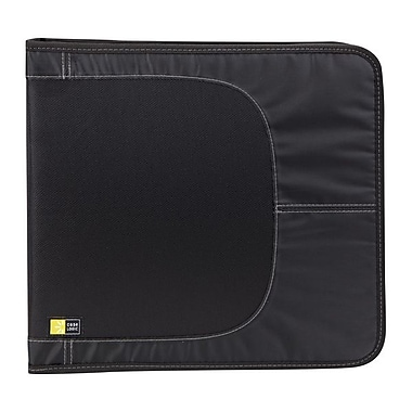 Case Logic® Nylon 136 CD Wallet, Black, Each