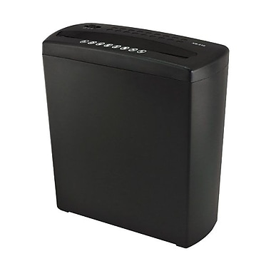 Gear Head™ PS580SC 6 Sheet Strip Cut Shredder, Black