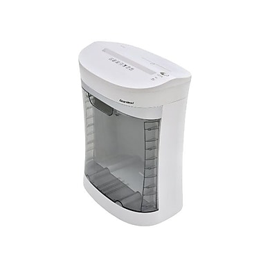 Gear Head™ PS1200CX Home/Office 12 Sheet Cross Cut Shredder With CD/DVD Slot, White