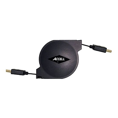 Accell® A157B-005B 5' Retractable HDMI A-D High Speed Cable
