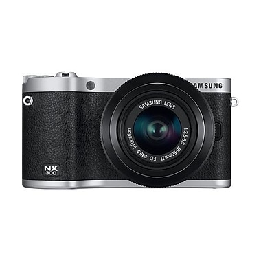 Samsung NX300 20.3 MP SMART Microless Cameras With 20 - 50 mm Lens