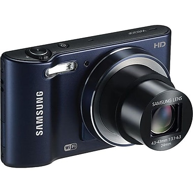 Samsung WB30F 16.2 MP SMART Camera With 10x Zoom, Black