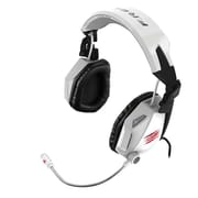 Mat Catz Cyborg F.R.E.Q.7 MCB434020002/02/1 Surround Sound Gaming Headset, White