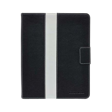 Gear Head™ Leather Style Executive Portfolio For iPad 2/3/4, Black