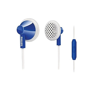 Philips SHE2105/28 In Ear Headphones With Mic, Dark Blue