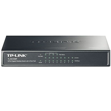TP-LINK® Ethernet Switch With 4-Port PoE