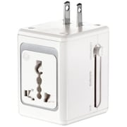 Conair® LS1ADR LectronicSmart™ All-in-One Adapter With USB Port, 5 VDC