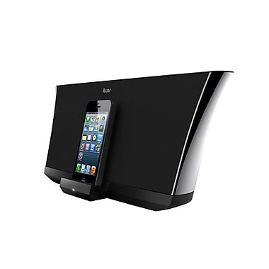 iLuv® AUD5ABLK High Fidelity Speaker and Lightning Dock For iPhone 5